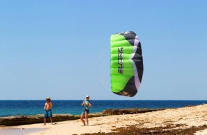 ozone imp trainer kite for learning how to kiteboard