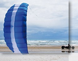 how to launch a power trainer kite