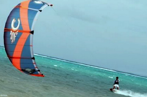 Kiteboarding and Kitesurfing Boracay