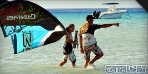 Best kitesurfing kite the Ozone Catalyst