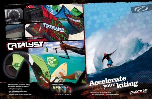 Ozone Kite - the Ozone Catalyst Kitesurfing kite