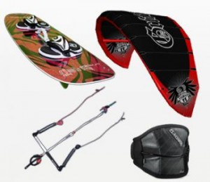 kiteboarding gear package sale
